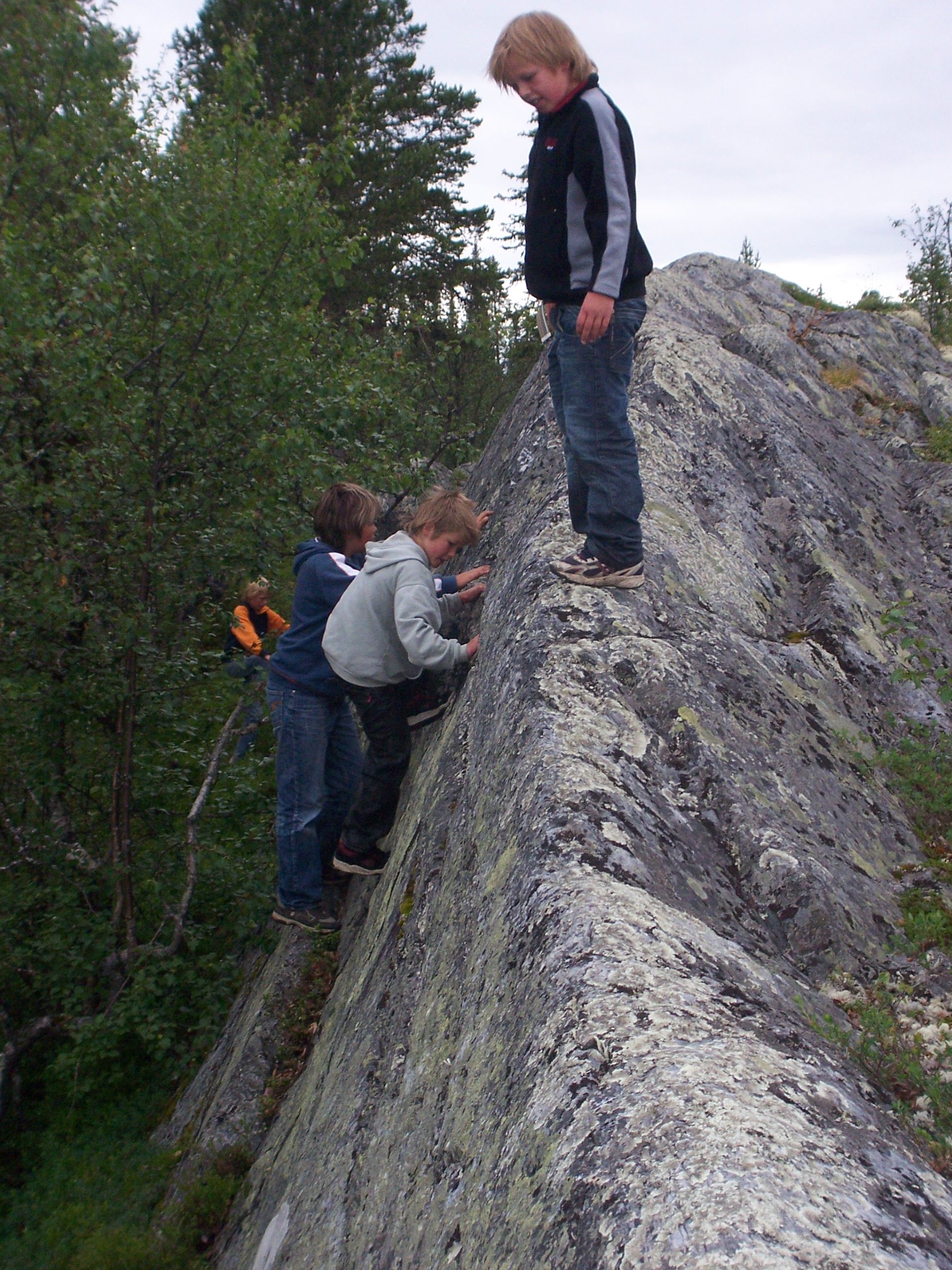 klatrefjell Tunnetjern